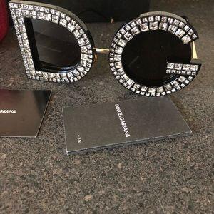 2018 Dolce & Gabbana oversized sunglasses